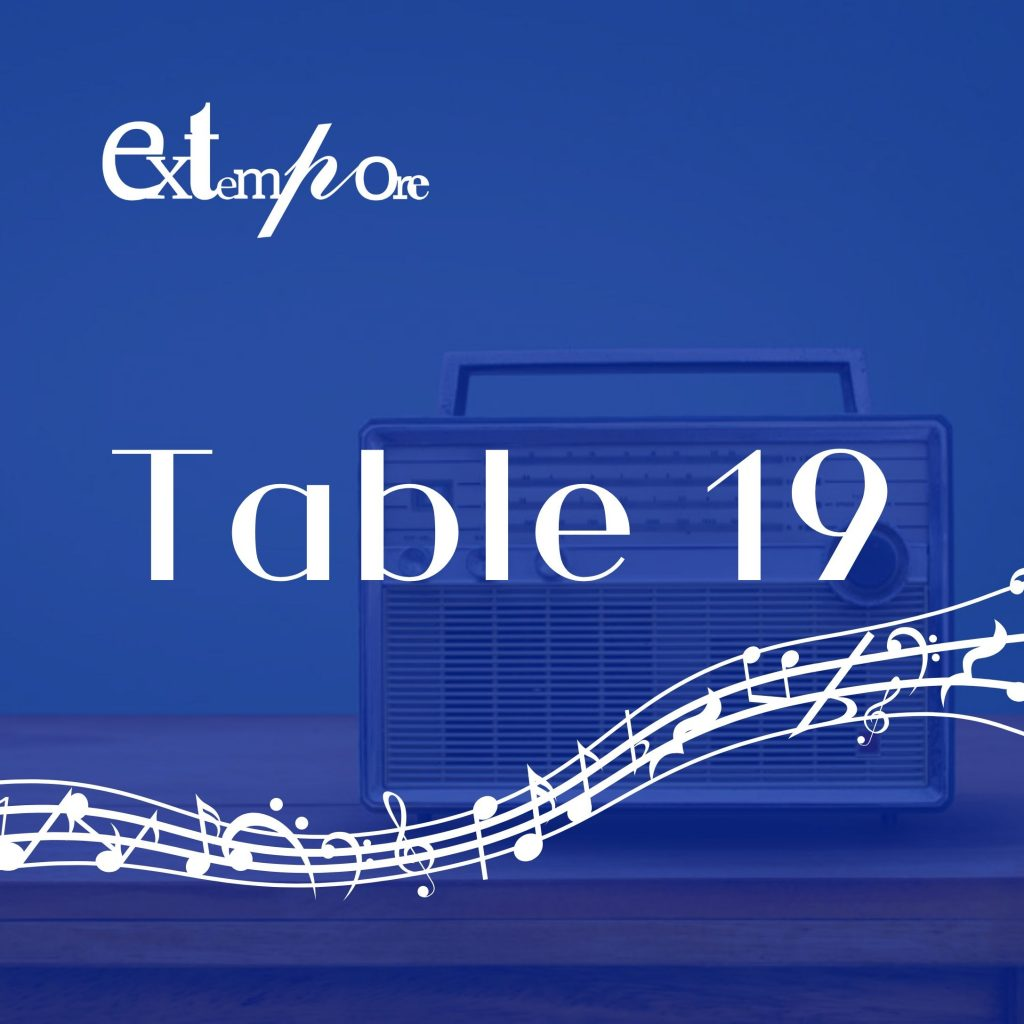 Table19 Podcast cover