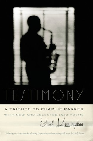 book cover showing silhouette of charlie parker